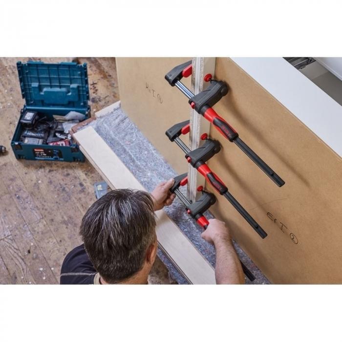 Menghina de transmisie tip F pentru lemn GearKlamp BESSEY BESGK30, 60x300 mm [7]