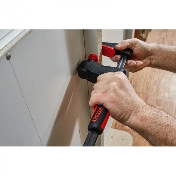 Menghina de transmisie tip F pentru lemn GearKlamp BESSEY BESGK30, 60x300 mm [4]