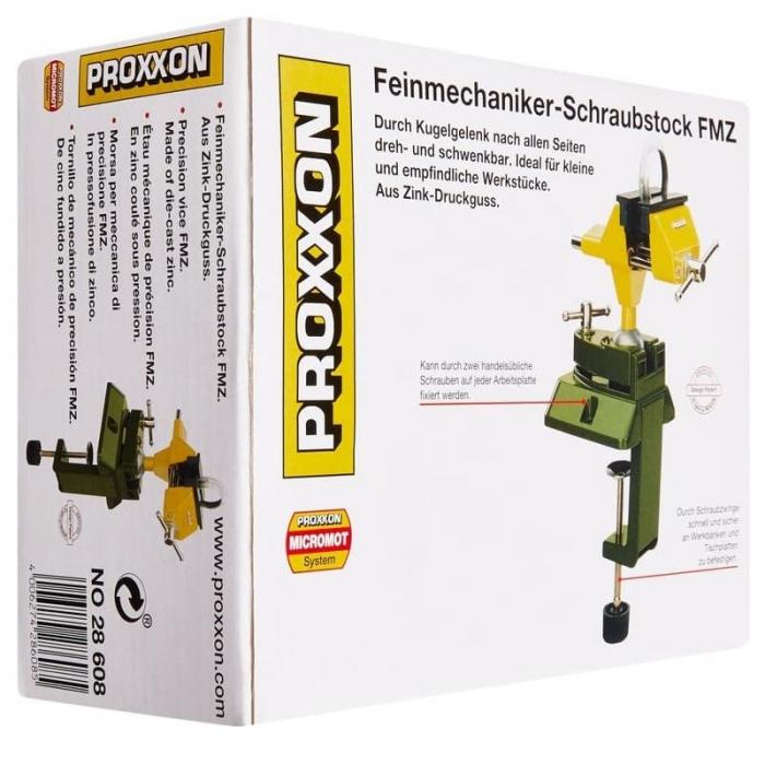 Menghina rotativa 360º cu fixare pe banc FMZ Proxxon PRXN28608, 70 mm 17