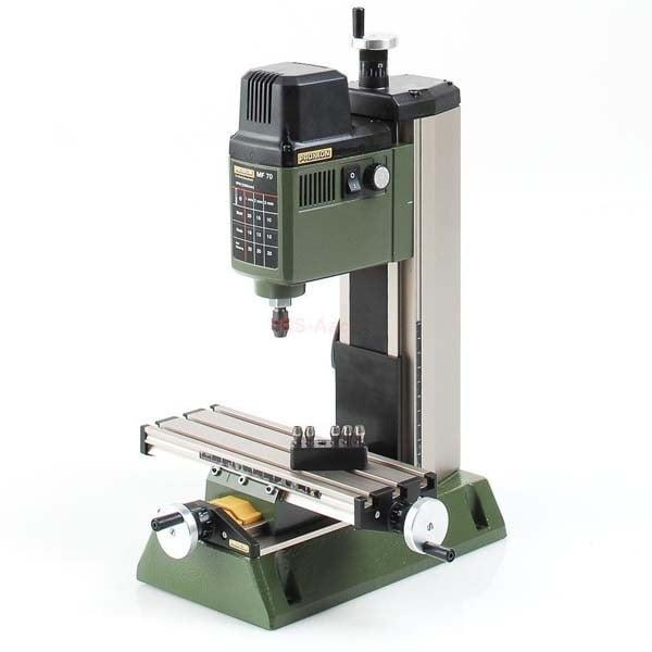 Masina de gaurit si frezat cu coloana de foraj Micromot MF 70 Proxxon PRXN27110, 100 W, 20000 rpm casaidea.ro
