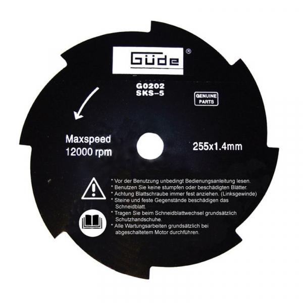 Motocoasa cu motor in doi timpi GFS 1503 B Guede GUDE95195, 2 Cp 8