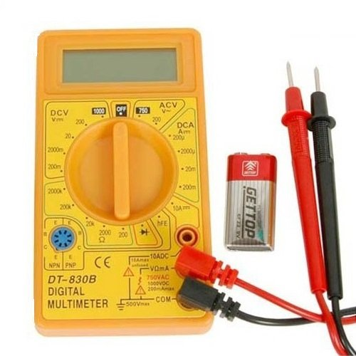 Multimetru digital Wert W2450, DC-AC, 500 V [0]