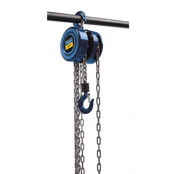Palan manual Scheppach SCH4907401000 CB01, 1000 kg, 3 metri casaidea.ro