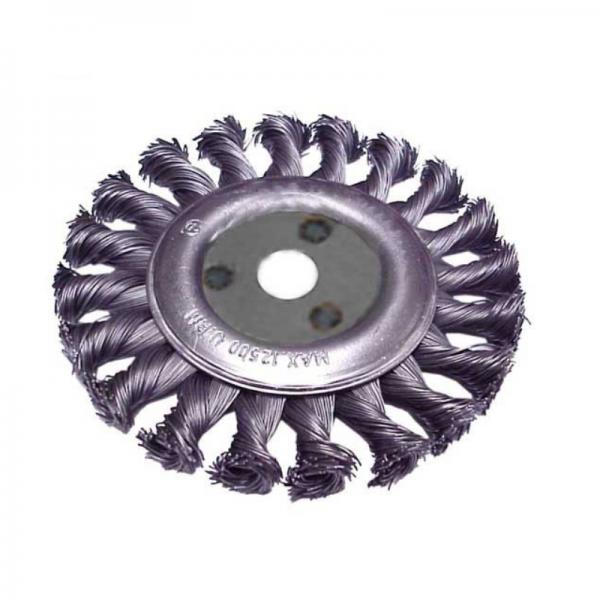 Perie de sarma circulara cu fir rasucit Troy T27706-100, 100 mm 0