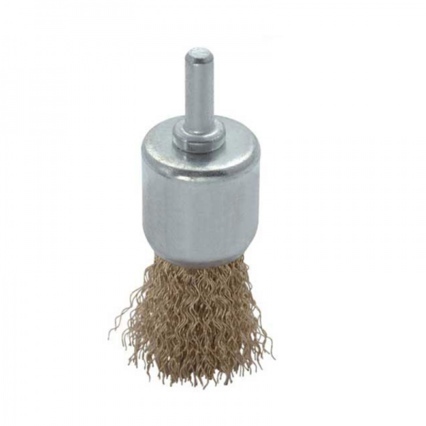 Perie de sarma tip deget cu tija Troy T27701-24, 24 mm casaidea.ro