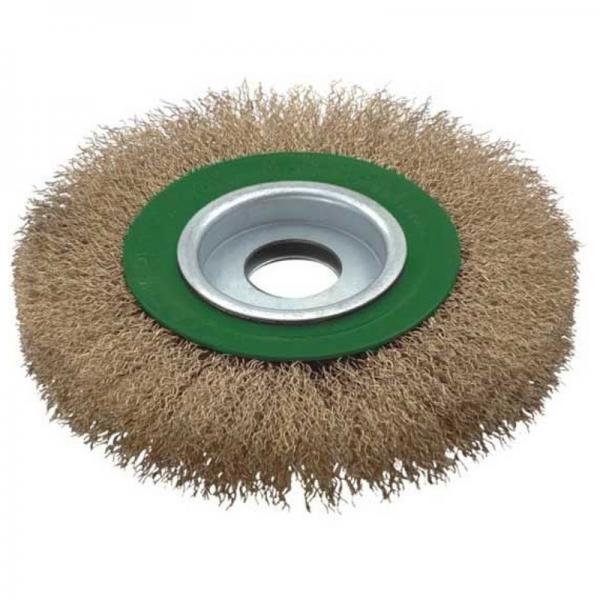 Perie de sarma circulara Troy T27704-150, 150 mm 0
