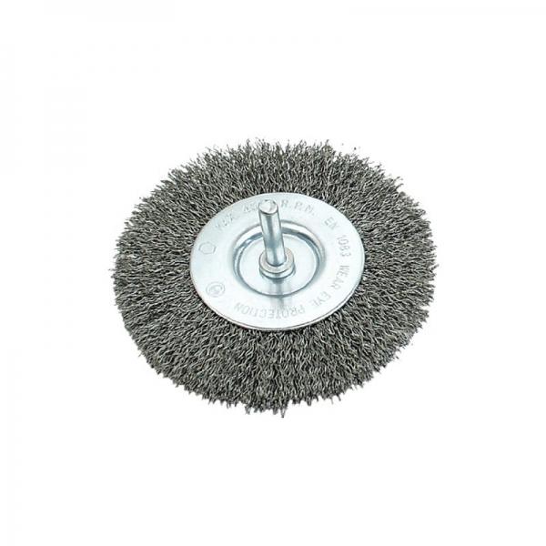 Perie de sarma circulara cu tija Mannesmann M439-G-075, 75 mm casaidea.ro
