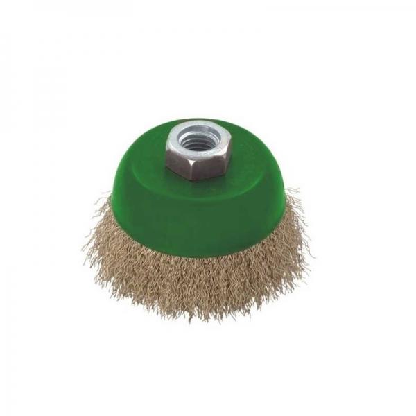 Perie de sarma tip cupa Troy T27710-75, 75 mm casaidea.ro