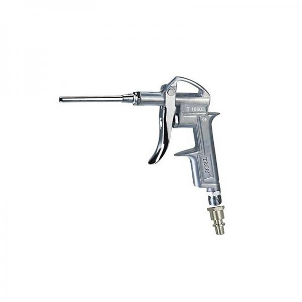 Pistol de suflat pneumatic 1 4 (N)PT Troy T18603 duza de 100 mm( 467069)