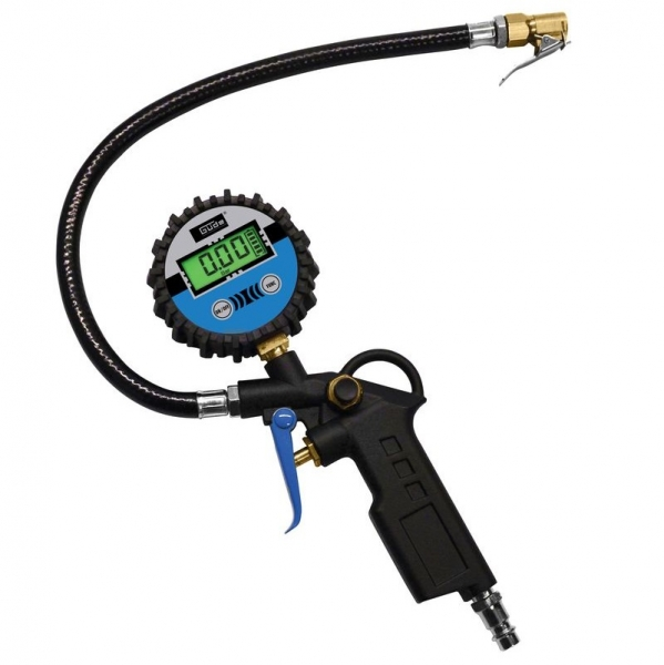 Pistol pentru umflarea anvelopelor cu manometru digital Guede GUDE2823, 12 bari poza casaidea 2021