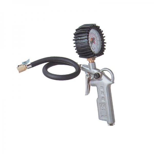 Pistol pentru umflarea anvelopelor cu manometru Guede GUDE2819, 12 bari poza casaidea 2021