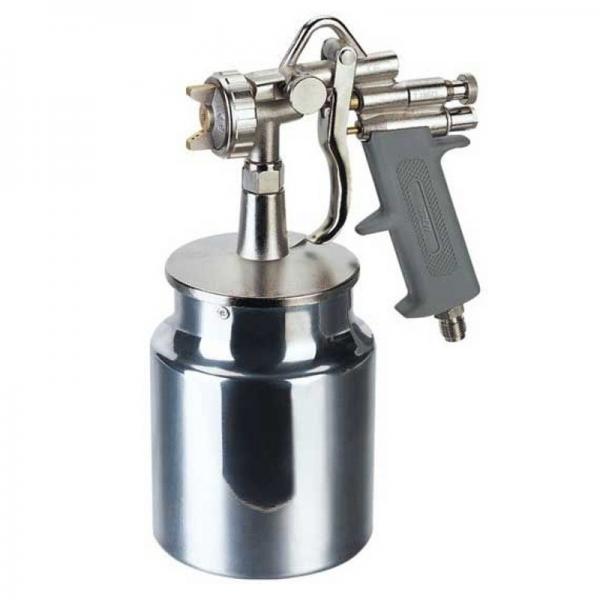 Pistol de vopsit cu aer comprimat alimentare prin suctiune 1000ml Troy T18678 O1 8mm( 467065)