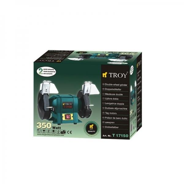 Polizor de banc Troy T17150, 350 W, Ø150 mm [1]