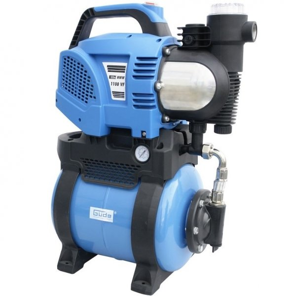 Pompa de apa cu filtru de apa integrat HWW 1400 VF Guede GUDE94231, 1400 W imagine 2021 casaidea.ro