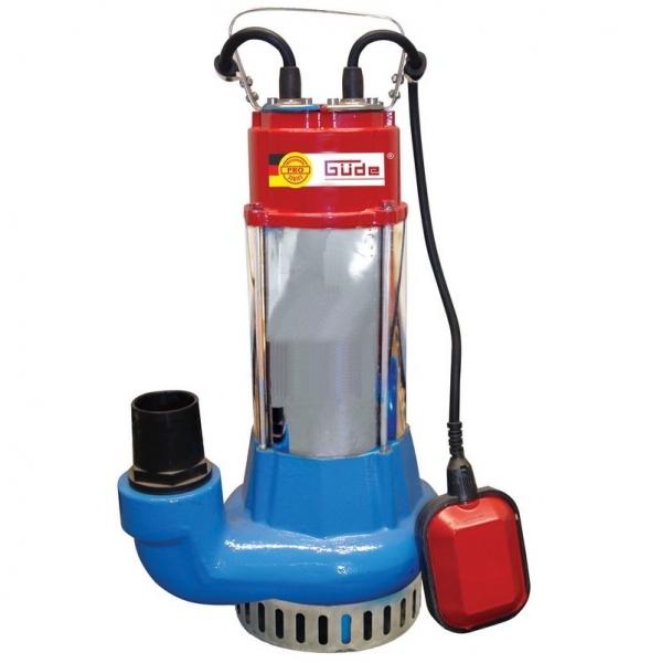 Pompa submersibila pentru apa murdara si curata PRO 1100A Guede GUDE75800, 1100 W imagine 2021 casaidea.ro