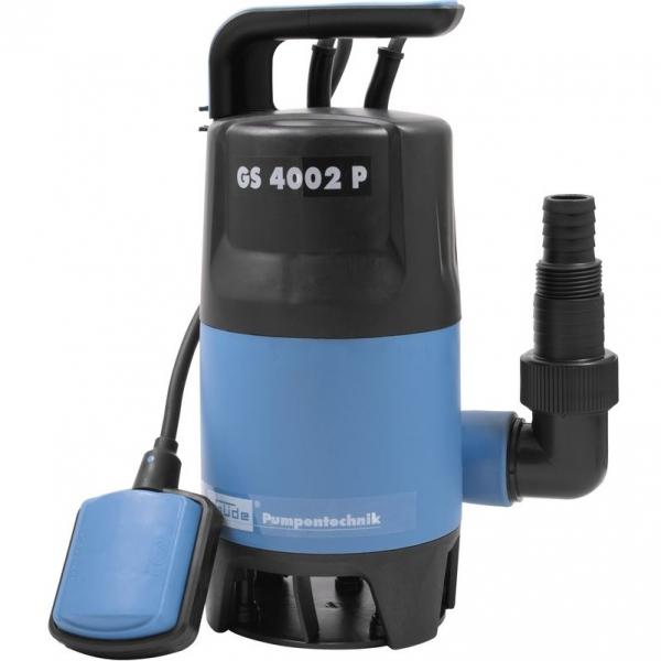 Pompa submersibila pentru apa poluata si curata GS 4002 P Guede GUDE94630, 400 W casaidea.ro