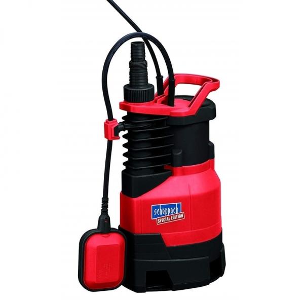 Pompa submersibila pentru apa murdara si curata SP900 Scheppach SCH5909504901, 900 W, 230 V, 50 Hz casaidea.ro