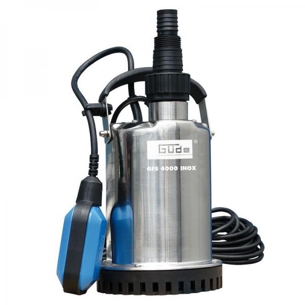 Pompa submersibila pentru apa poluata si curata GFS 4000 Guede GUDE94606, 400 W casaidea.ro