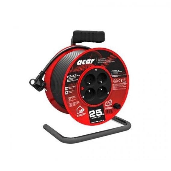 Prelungitor electric pe tambur Acar A82478 25 m( 467211)