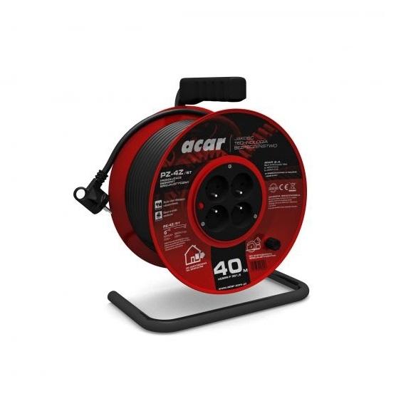 Prelungitor electric pe tambur Acar A82454, 40 m casaidea.ro
