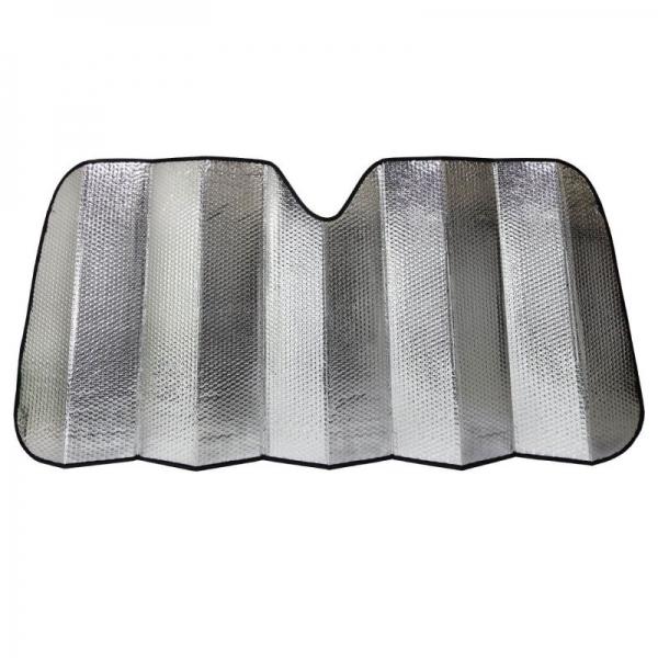Parasolar culoare metalica LifetimeGarden H8711252213224, 130x60 cm casaidea.ro