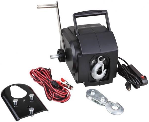 Troliu Electric 900 KG 12 V GUEDE 55127 title=Troliu Electric 900 KG 12 V GUEDE 55127