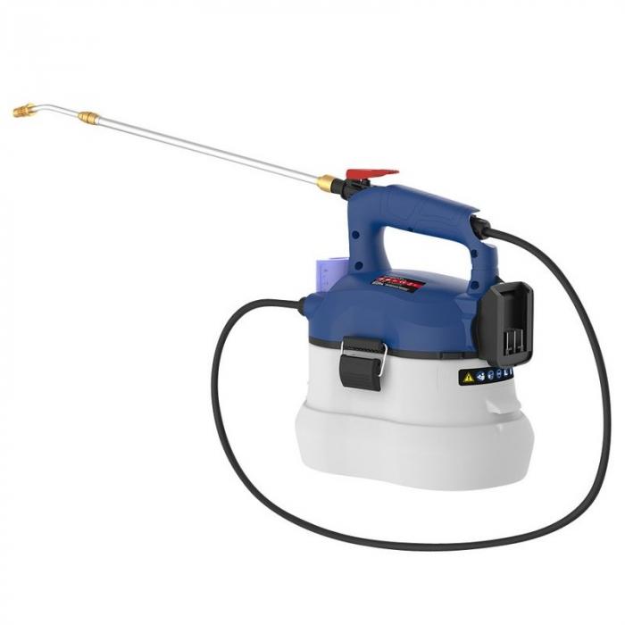 Pulverizator erbicid fara acumulator 18 V SG 18-0 Guede GUDE58571, 3 l, 500 ml/min [0]