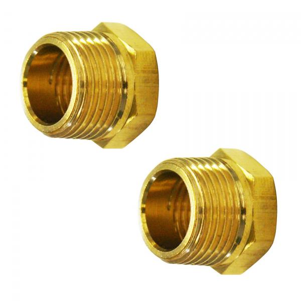 Set reductori de la 1 2 la 1 4 Guede GUDE41052, O15 mm, 2 bucati casaidea.ro