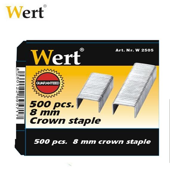 Rezerve capse Wert W2505, 8 mm, 500 bucati 1