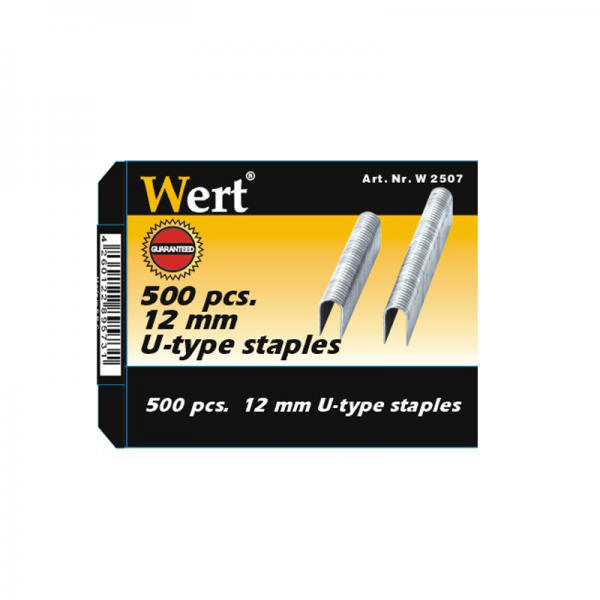 Rezerve capse Wert W2507, 12 mm, 500 bucati 1