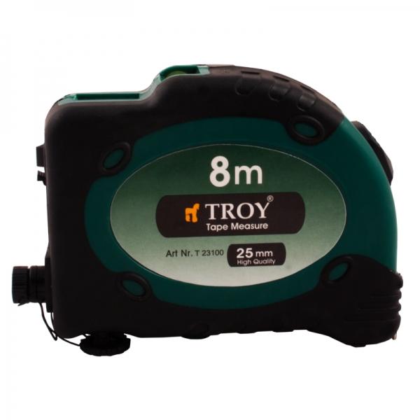 Ruleta cu laser Troy T23100, 8 m x 25 mm [0]