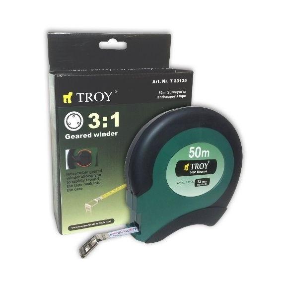 Ruleta de teren Troy T23135, 50 m x 13 mm 1