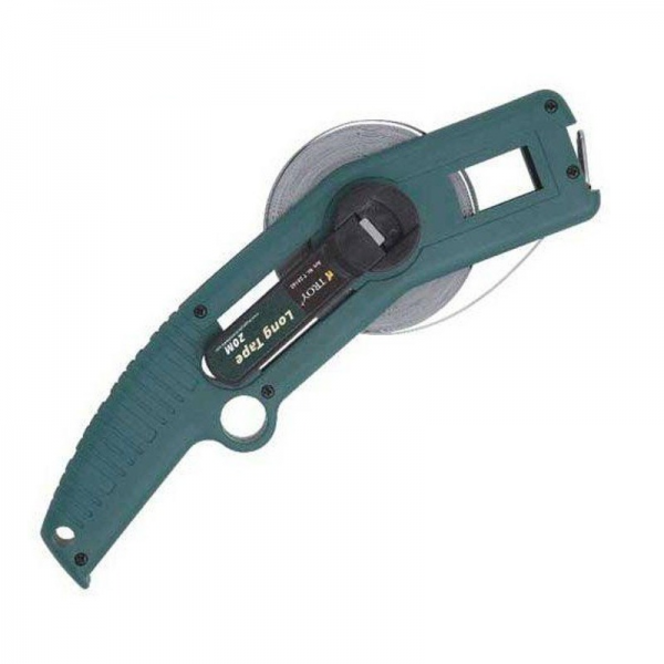 Ruleta de teren cu brat Troy T23142, 20 m x 13 mm 0