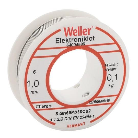 Sarma de lipit EL 60 40-100 Weller WELT0054004599, O1 mm, 100 gr( 511088)