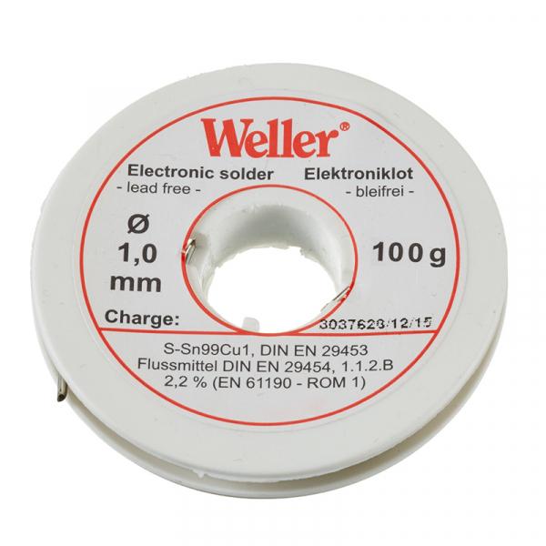 Sarma de lipit EL 99 1-100 Weller WELEL99 1-100, O1 mm, 100 gr poza casaidea 2021