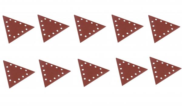 Set discuri abrazive triunghiulare pentru masinile de slefuit Scheppach SCH7903800605, granulatie 180, 10 bucati poza casaidea 2021