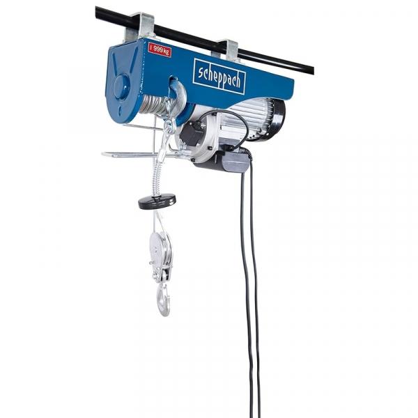 Scripete electric Scheppach HRS 1000 SCH5906905901, 1600 W, 500-1000 Kg poza casaidea 2021