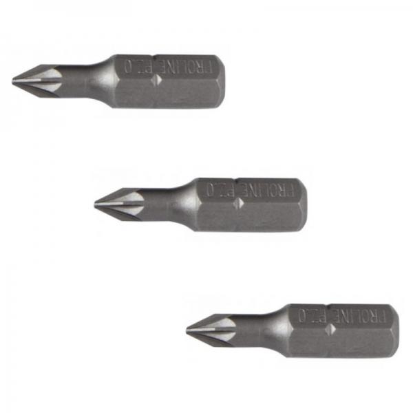 Set de biti Mannesmann M20151, PZ1, 25 mm, 3 bucati casaidea.ro