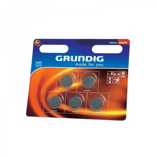 Set baterii 3V 5 bucati GRUNDIG( 469063)