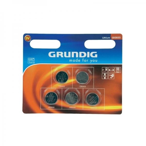 Set baterii 5 bucati GRUNDIG( 469062)