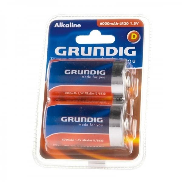 Set baterii D (LR20 ) 2 bucati GRUNDIG( 468122)