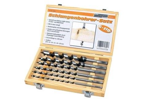 Set burghie pentru lemn Mannesmann M54620, O6-20 mm, 6 piese imagine 2021 casaidea.ro