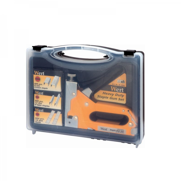 Set capsator manual reglabil plus rezerve Wert W2500, 8-12 mm, 1500 piese [1]