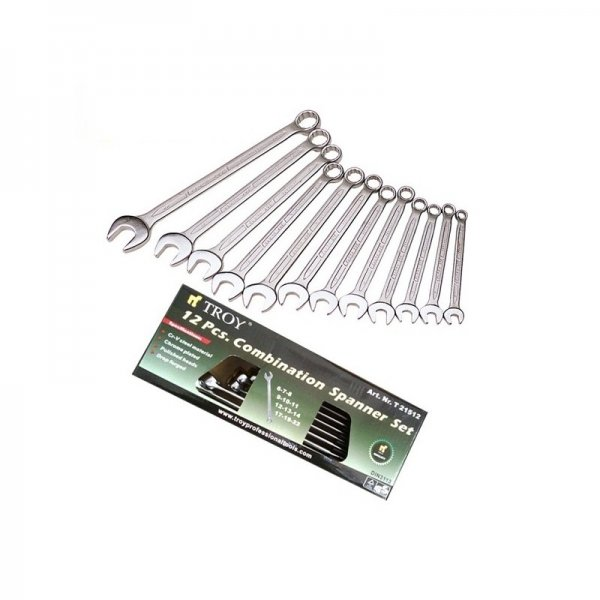 Set chei combinate Troy T21512, Ø6-22 mm, 12 piese 0