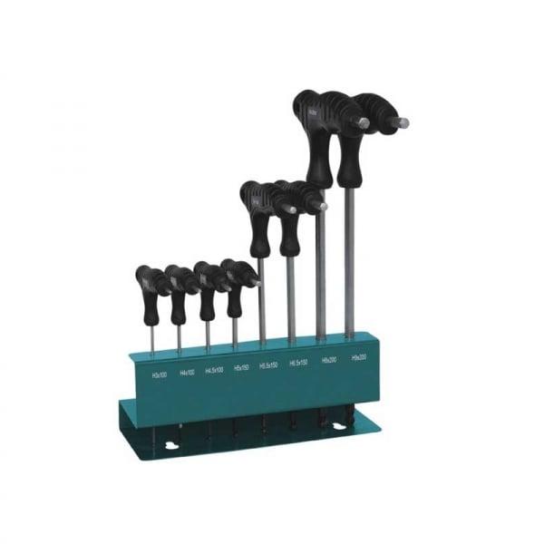 Set chei imbus Hex Troy T22308, Ø 1.5 - 10 mm, 9 piese 0