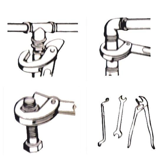 Set chei universale tip spanner Wert W2190, Ø 9-32 mm, 2 piese 4