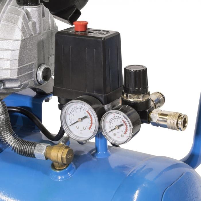 Set compresor cu doi cilindri 405/10/50 Guede GUDE71177, 2200 W, 50 l, 10 bari, 15 piese [4]