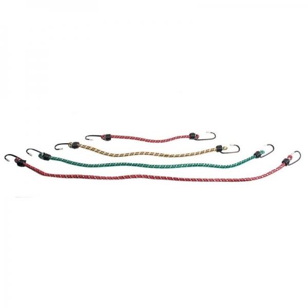 Set corzi elastice pentru fixarea bagajelor Mannesmann M030-T-12, 12 piese casaidea.ro