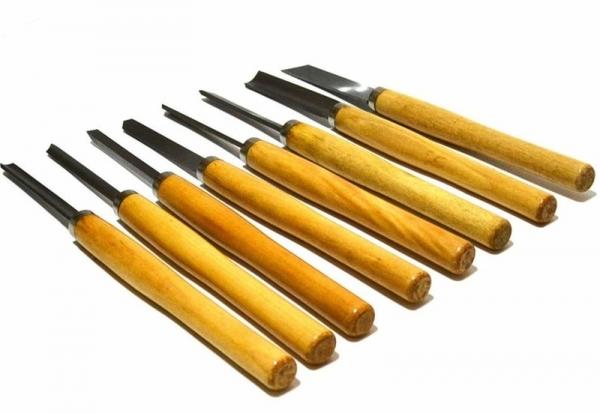 Set de dalti pentru lemn Mannesmann M691-8, 12-25 mm, 8 piese casaidea.ro