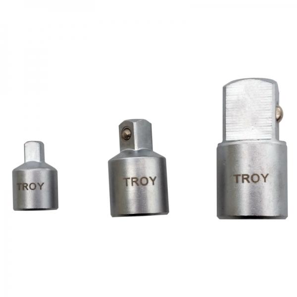 Adaptoare pentru chei tubulare Troy T26136, 3 piese TROY